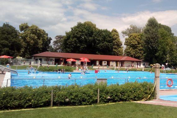 Freibad Moosburg Schwimmkurs